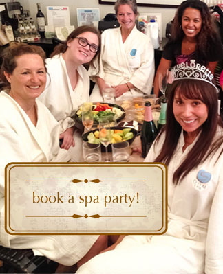 Book a spa party!