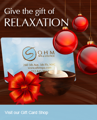 Custom Design & Send An Ohm Spa Gift Card