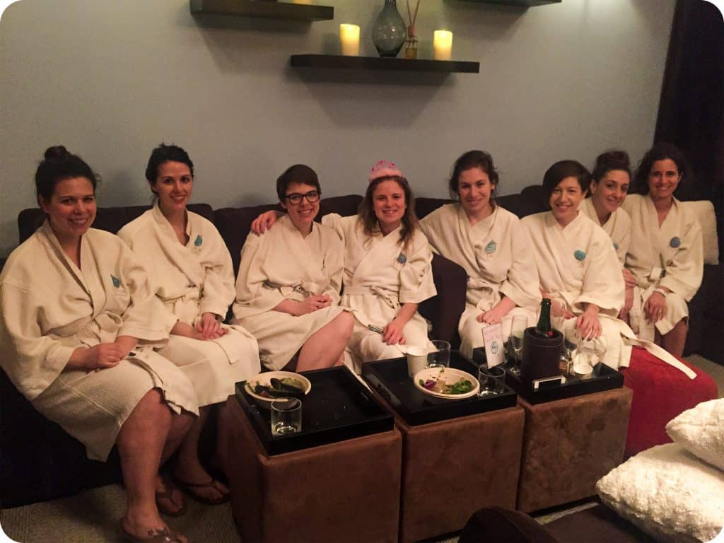 Sofia's Bachelorette Party at Ohm Spa & Lounge, New York.