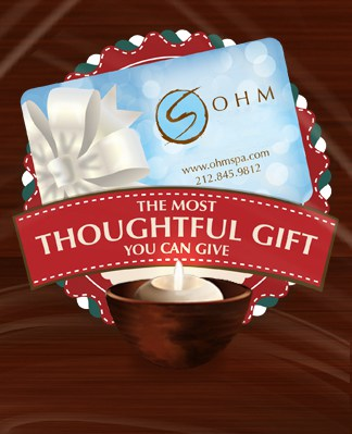 Design & Send An Ohm Spa Gift Card