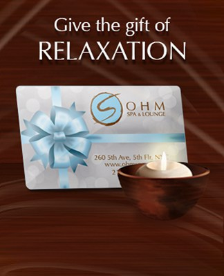 Give An Ohm Spa Gift Card